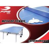 Mesa Ping Pong Tenis Mesa Fire Sports Entrenamiento
