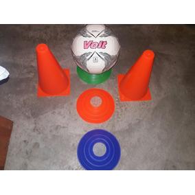 Conos 20cm P/ Entrenmiento Futbol Basquetbol Colores