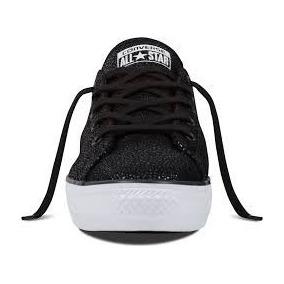 Zapatillas Converse Doradas / Negras 33c 34c