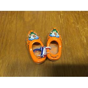 Sapatos Madeira Folclore Holandês