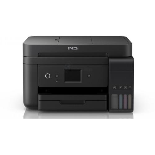Impressora a cor multifuncional Epson EcoTank L6191 com Wi-Fi 110V preta