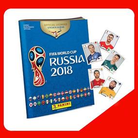 Album Copa Do Mundo Rússia 2018 Panini + 6 Figurinhas Grátis