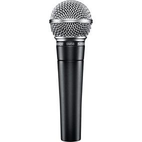 Microfone Sm58 Shure Sm58lc Original C/ Garantia E Nf