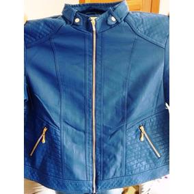 2 Jaquetas Couro Ecológico Plus Size Feminina Com Gola E Sem