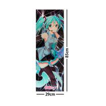 Vocaloid Poster Largo Plastificado Miku Hatsune