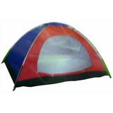 Carpa Para 3 Personas Playa Camping Rió Bosque Caza Pesca