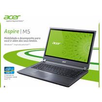 Notebook Acer Aspire M5core I3 Ssd Teclado Iluminado Hd500gb