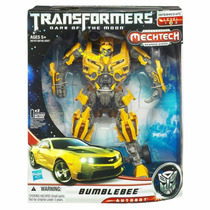 Bumblebee Transformers Dark Of The Moon Mechtech Leader