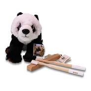 Combo Peluche Panda + Cepillo X2