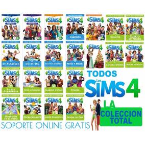 Los Sims 4 Aventura En La Selva + Dia De Colada + 24 Juegos