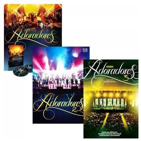 Kit Box Dvd+cd Adoradores Ao Vivo Volume 1 2 E 3 Novo Tempo