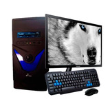 Pc Intel Celeron J3060 4gb 1tb Monitor Led 21 Teclado Mouse