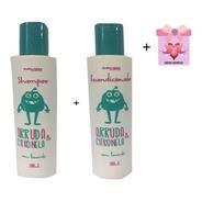 Kit  Shampoo E Cond. Mata Piolhos Abelha Rainha + Brinde