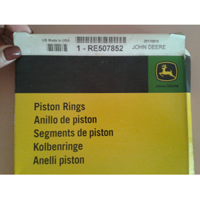 Anillos De Piston Para Motor Jhon Deere