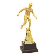 Troféu Jogador De Futebol Premiação Campeão Futsal 22 Cm