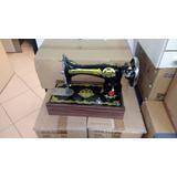 Máquina De Costura Elétrica Reta Doméstica Portátil C/ Motor