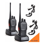 Pack 2 Radiotelefono Baofeng Pack Bf-888s 2 Vias W01