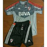 Camiseta + Short Oficial River Plate Arquero 2017 Oferta 2x1
