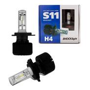 Lâmpada Led Ultra H4 6k 12v 35w 8000lm S11 - Shocklight