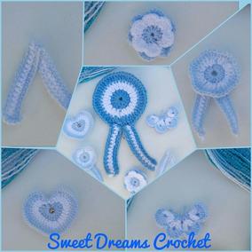 Escarapelas Argentinas Tejidas A Crochet