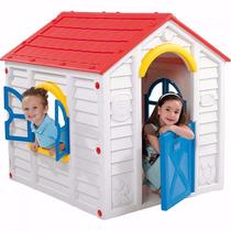 Casita Plastica Casa Chicos Keter Flory Playhouse