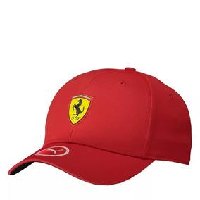 Boné Puma Ferrari Fanwear Vermelho Original 1ª Linha