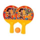 Lembrancinha Raquete Ping Pong Com Bolinha Toy Story 9 X 5cm