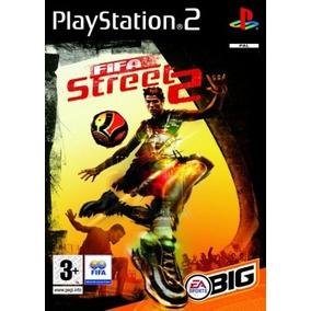 Jogo Patch Futebol Fifa Street 2 Play2 Ps 2 Playstation 2