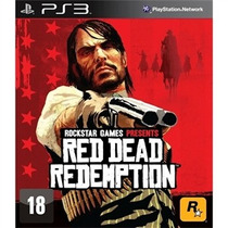 Ps3 - Red Dead Redemption - Midia Física -