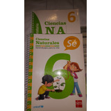 Libro Naturaleza Proyecto Sé 6xto Basico