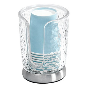 Dispensador Interdesign Lluvia Taza Desechable De Papel Par
