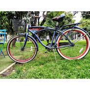 Bicicleta Huffy Edición Panama Jack Beach Cruiser De 26