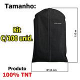 Capa Protetora P/terno, Camisas,roupas Zíper 100%tnt Kit 100