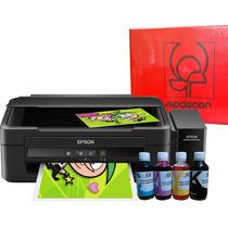 Impresión Comestible Obleas Tintas Multi Epson L380