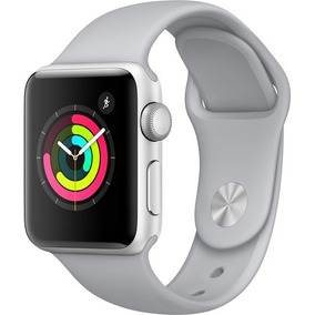 Apple Watch Serie 3 38mm Mqku2ll Silver/prata Novo Original