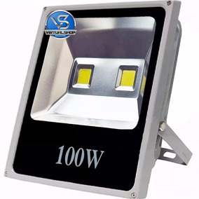 Refletor Led 100w Holofote Bivol A Prova D