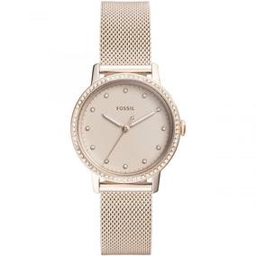 Fossil Es4364 Reloj Para Mujer, Color Rosa