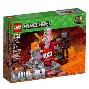 Lego Minecraft - O Combate De Nether