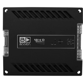 Modulo Potencia Banda 12.4 D 1200w Rms 4 Canal Digital 12.4d