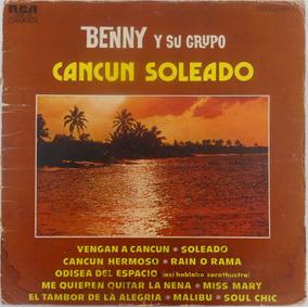 Funda Portada Benny Y Su Grupo Cancún Soleado