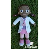 Muñeca Doctora Juguetes Tejida Amigurumi 42 Cm Hermosa!!!