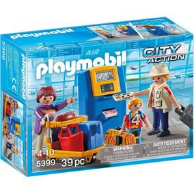 Playmobil 5399 Familia Check In Aeropuerto Original Intek