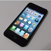 Ipod Touch 64gb Apple 4 Geração Mp3 Preto - Usado - Leia