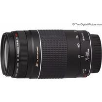 Lente Canon Ultrasonic Ef 75-300mm F/4-5.6 Iii Usm
