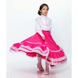 Vestido Chihuahua Regional Típico Niña Traje Disfraz Envío G