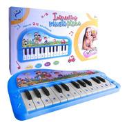 Organo Teclado Infantil Piano Musical 24 Teclas C/ Numeros