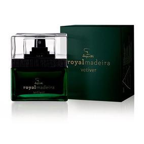 Perfume Colônia Masculina Royalmadeira Vetiver Jequiti Novo!