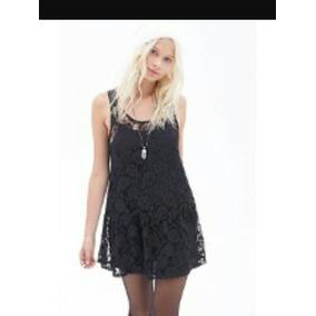 Vestido Tipo Encaje Broderi Mujer T1