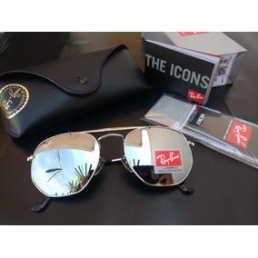 Oculos Ray.ban Barato Espelhado - Óculos no Mercado Livre Brasil 42afaee7ea