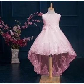 Vestido Infantil Festa Casamento Dama Pequenos Defeitos